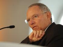 Wolfgang Schäuble , Bundesfinanzminister, Haushalt in Deutschland