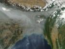 Smog über Indien und Bangladesch