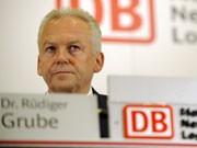 Deutsche-Bahn-Chef Rüdiger Grube, dpa