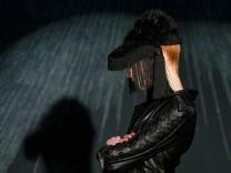 Augustin Teboul bei der Fashion Week Berlin