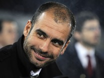 FILE: Bayern Munich Appoint Pep Guardiola As Coach On Three-Year Contract UD Almeria v Barcelona - La Liga