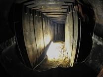 Tunnelraub - Spuren werden gesichert