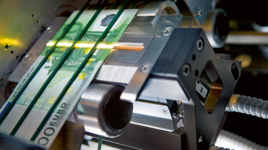 "Banknotendrucker ´Giesecke & Devrient"""