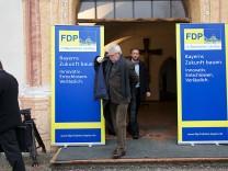 Klausurtagung der bayerischen FDP-Fraktion im Kloster Benediktbeuern.enediktbeuern