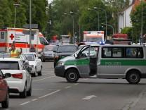Memmingen, Schule, Lindenschule, Polizei, Amokalarm