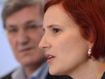 Linke, Bernd Riexinger, Katja Kipping, Reichensteuer