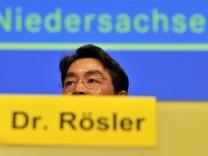 Rösler denkt nicht an Rückkehr in Landespolitik