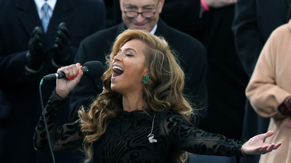 Beyoncé bei Obamas Inauguration
