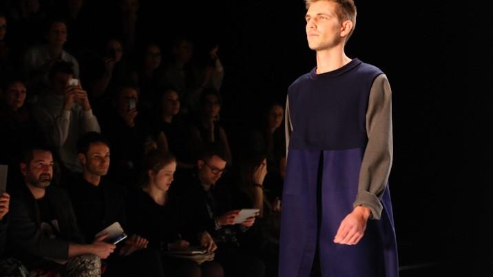 Vladimir Karaleev, Mary Scherpe bei der Fashion Week Berlin