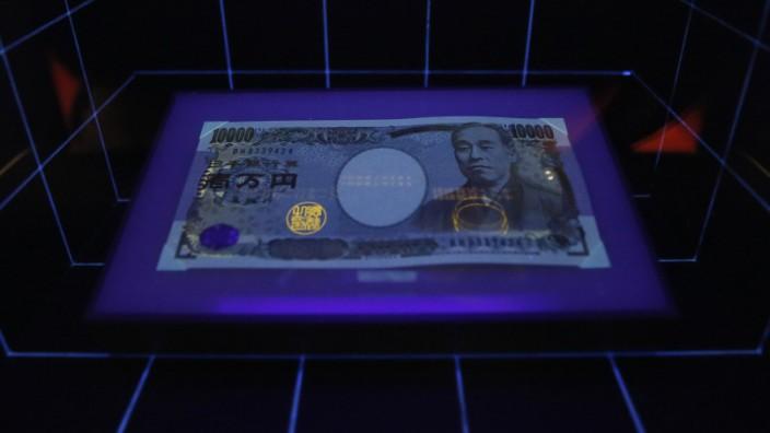 Yen, Japan, Notenbank