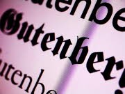 Typografie, Gutenberg, Systemschrift, @font-face
