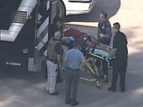 Schießerei am Lone Star College: Mehrere Personen verletzt.