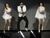 File photo of Psy performing at KIIS FM's Jingle Ball concert in Los Angeles