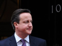 David Cameron Großbritannien Premier EU Europa Union