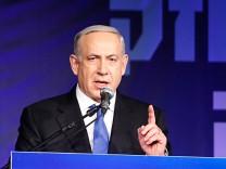 Likud Netanjahu Israel Wahlen Knesset