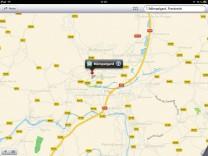 Apple Kartendienst Mömpelgard