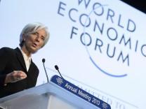 Weltwirtschaftsforum, Davos, Christine Lagarde, IWF