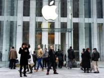 Apple Geschäftszahlen