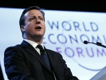 WEF David Caeron Europa EU Austritt Referendum