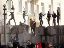 Egypt opposition protest on revolt second anniversary