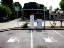 Tankstelle Elektro-Tankstelle