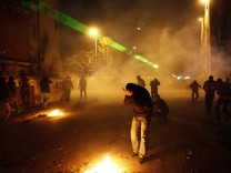 Egypt opposition protest on revolt second anniversary