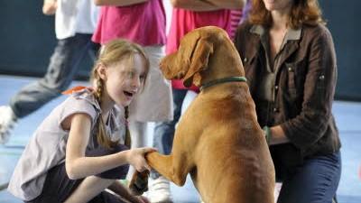 München für Kinder Kinder und Hunde