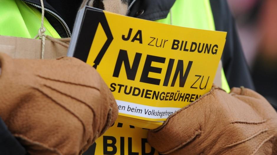 Volksbegehren Studiengebühren