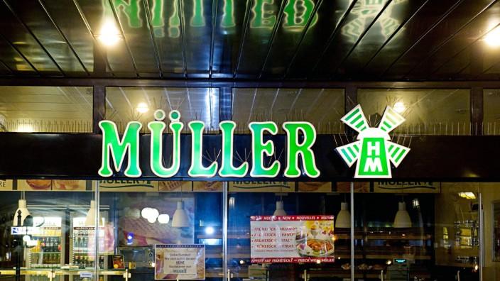 Filiale der Bäckereikette Müller-Brot