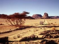 Hoggar in der algerischen Sahara, 2003