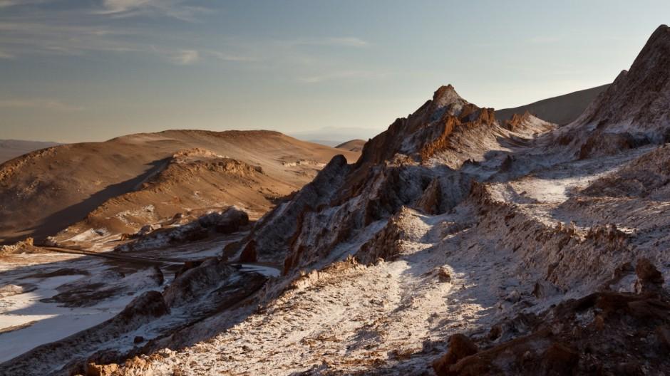 Chile Norden Atacama Altiplano San Pedro Laguna Salzsee Uyuni Bolivien