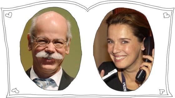 Désirée Nosbusch und Dieter Zetsche