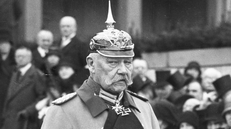 Paul von Hindenburg, 1930 SZ Photo