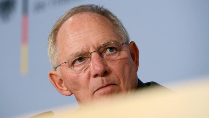 Wolfgang Schäuble Zypern Hilfspaket Euro Rettung