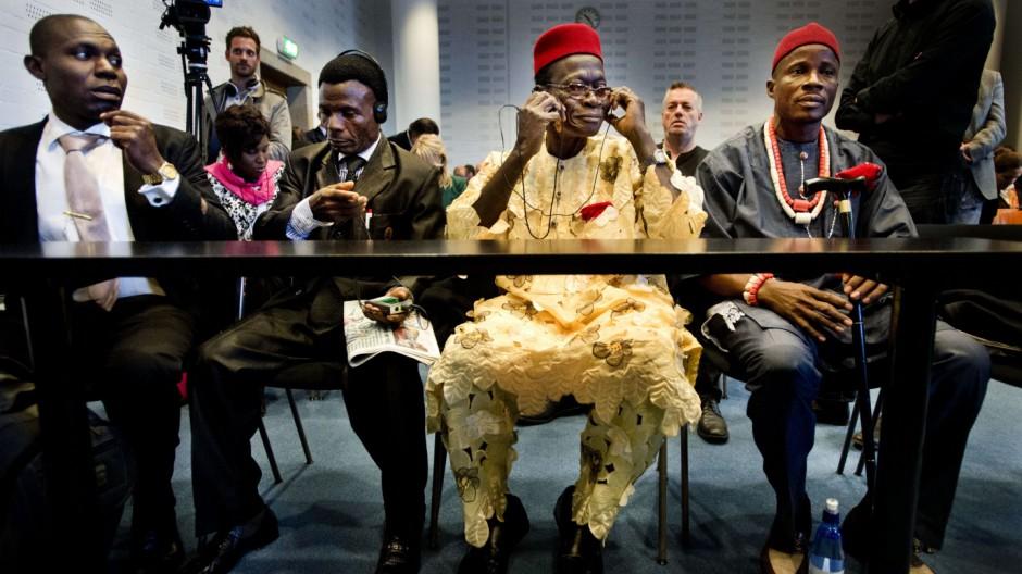 Shell Umweltschäden in Nigeria