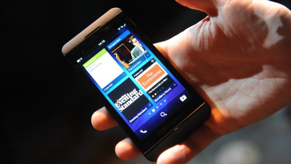 BlackBerry to launch touchscreen devices using its new operating