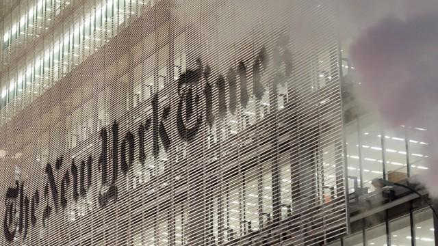 New York Times Tower in Manhattan