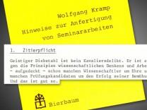 Zitierregeln der Uni Düsseldorf
