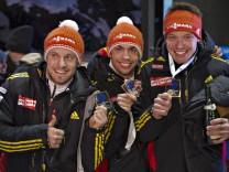 Rodel-WM Felix Loch, Tobias Arlt, Tobias Wendl