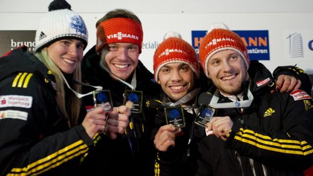 Rodeln WM Whistler Kanada Natalie Geisenberger Team