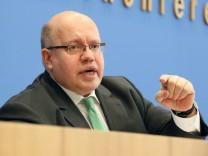 Bundesumweltminister Strom Strompreisbremse Peter Altmaier Energiewende