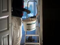 Wohnung mieten Mietvertrag Mieter Vermieter Schönheitsreparaturen Malerarbeiten