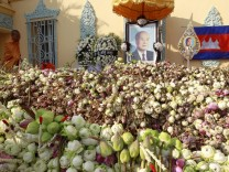 Royal cremation ceremony of former Cambodian King Norodom Sihanou