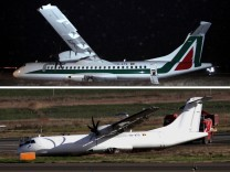 Alitalia Unfall Carpatair