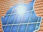 solaranlage in sparschweinform ; dpa