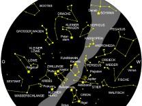 Der Sternenhimmel im Februar