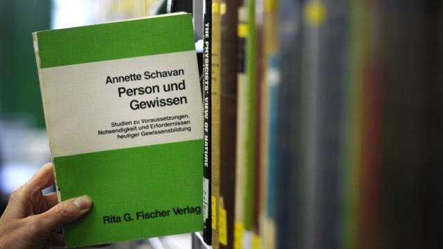 Dissertation von Annette Schavan cdu