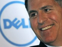 File of Dell Inc. founder and chief executive Dell during a business conference in New Delhi