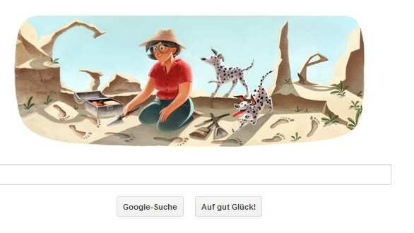 Mary Leakey findet Spuren