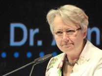 Bundesbildungsministerin Annette Schavan
